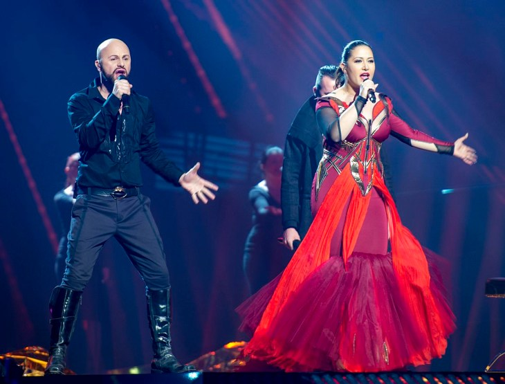 Bosnia and Herzegovina, Eurovision 2016. Image source: Albin Olsson