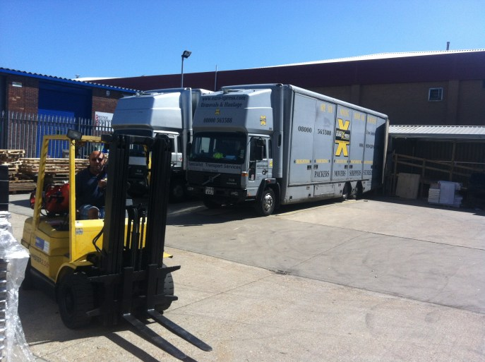electrical distribution warehouse removals