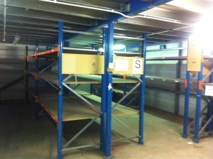 Site Building of Racking
