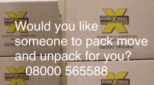 packing service removals