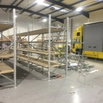 site building racking, stock removals