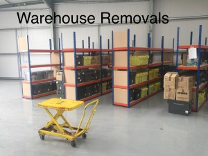 warehouse removals