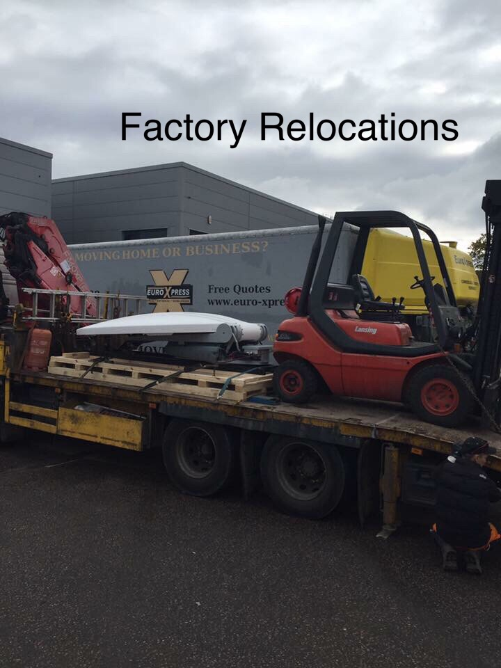 Factory relocations