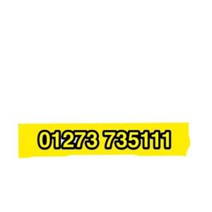 Removals Brighton short notice 01273 735111
