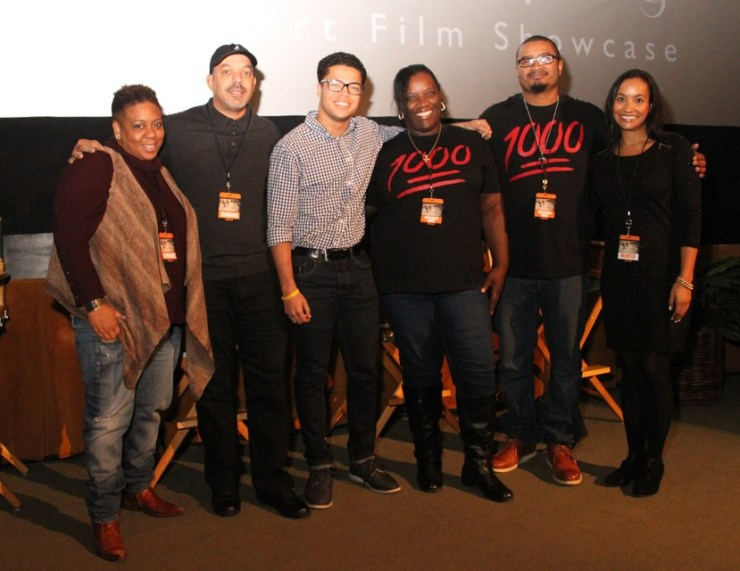 Producer Nia Hill (The Family Crews, Sunday Best) and other attendees on hand at the African American Film Marketplace & S. E. Manly Short Film Festival. The 2017 event takes place Jan. 13th -15th in Hollywood. For info go to BHERC.org