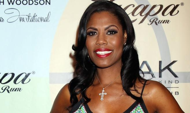 Omarosa Wedding Dress.Omarosa Shows Off Say Yes To The Dress Wedding Gown