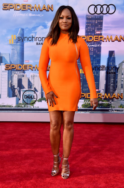 """Garcelle Beauvais attends the premiere of Columbia Pictures' """"Spider-Man: Homecoming"""" at TCL Chinese Theatre on June 28, 2017 in Hollywood, California."""