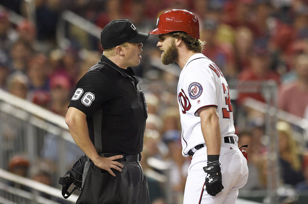 Nationals Star Bryce Harper Blames Logic Song '5AM' for His Ejection