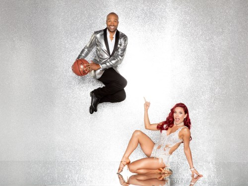 DANCING WITH THE STARS - DEREK FISHER AND SHARNA BURGESS -