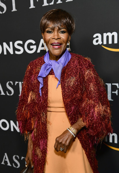 "Cicely Tyson attends the premiere of Amazon's ""Last Flag Flying"" at DGA Theater on November 1, 2017 in Los Angeles, California."