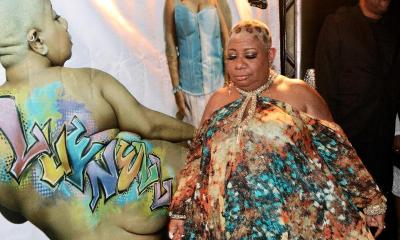 luenell1 - luenell & her backside pic on red carpet BY GINA WALKER PHOTOGRAPHY