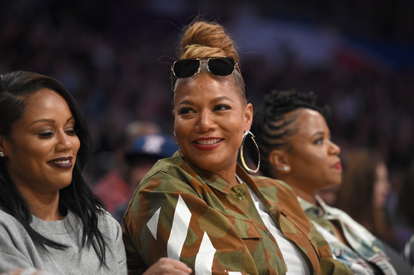 Queen Latifah attends the NBA All-Star Game 2018 at Staples Center on February 18, 2018 in Los Angeles, California.