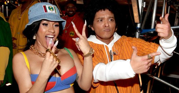 310821d3d7 Cardi B and Bruno Mars are Dropping a New Song End of the Month