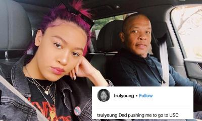 dr dre & daughter (not happy) - instagram-3