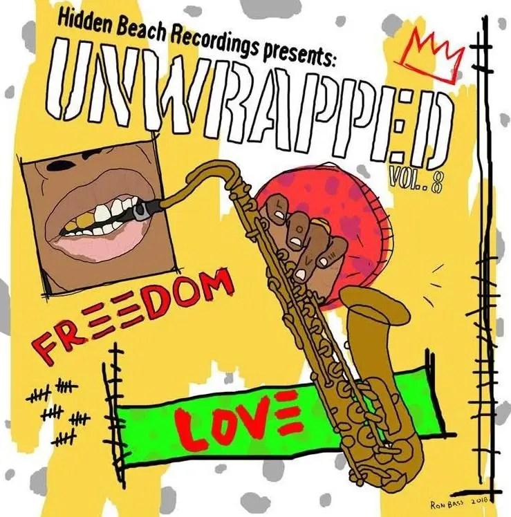 hidden beach unwrapped vol 8 - cover