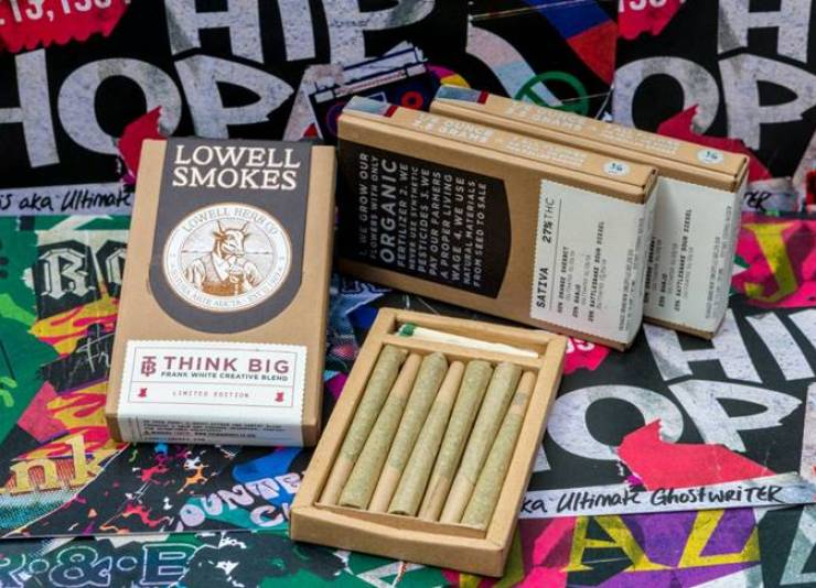 cannabis brand, Think BIG