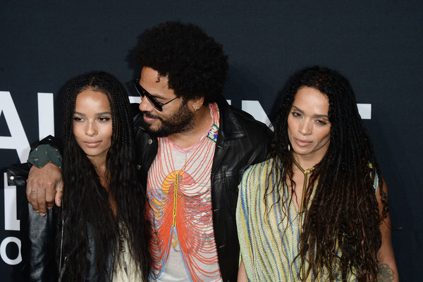 Lenny Kravitz On His Blended Family With Ex Lisa Bonet And