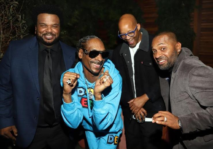 Snoop Dogg & others Dolomite cast - red carpet