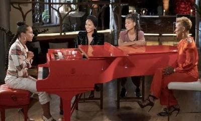 Alicia Keys Red (Piano) Table Talk