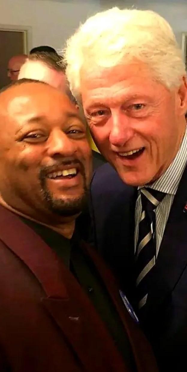 Najee Ali & Bill Clinton
