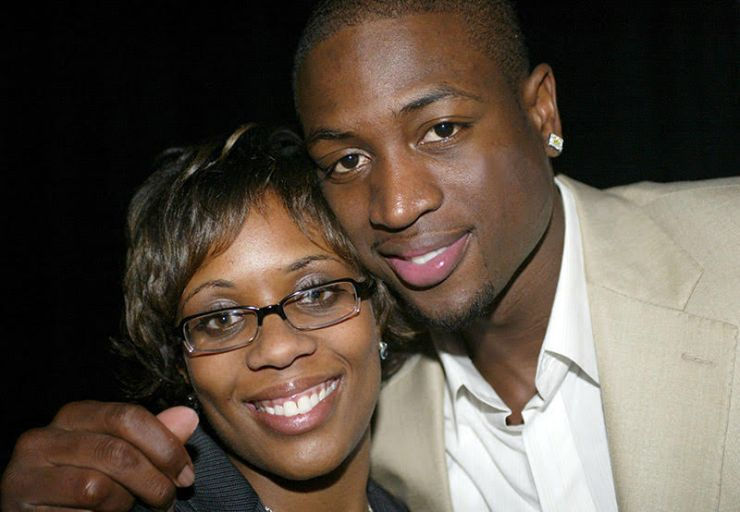 Dwyane Wade and Siohvaughn Wade (Photo by Bennett Raglin/WireImage)