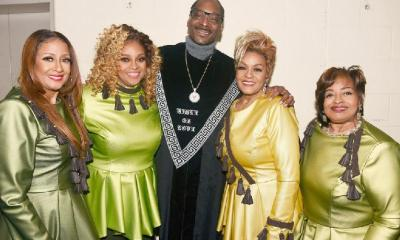 Clark Sisters & Snoop Dogg - GettyImages