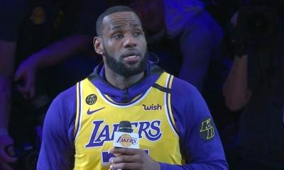 LeBron James speaks on Kobe at LakersPortland game
