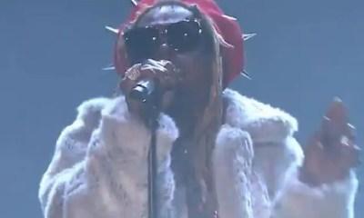 Lil Wayne  (on tonight show-Fallon)