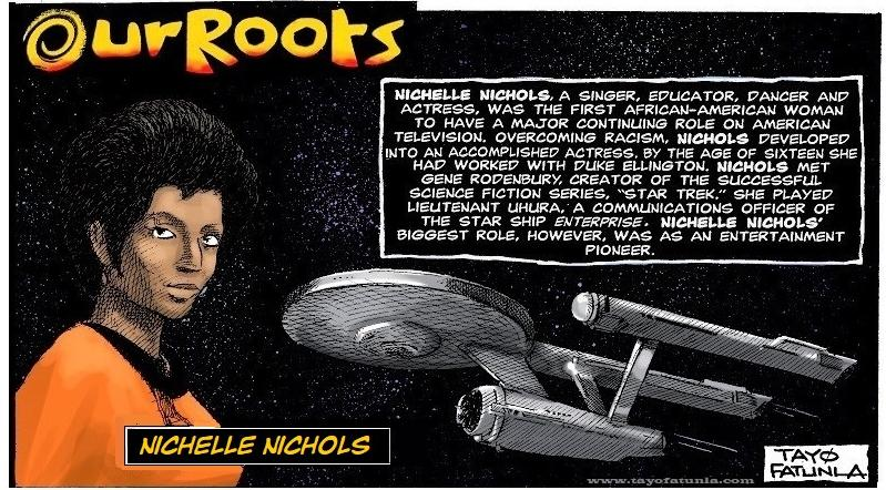 Our Roots - Nichelle Nichols EURWEB 2020