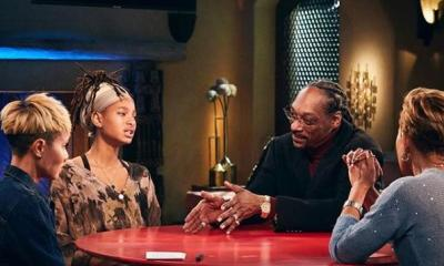 Snoop at Red Table Talk