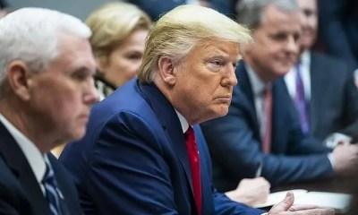 Trump - Pence - coronavirus meeting