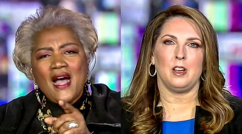 RNC Chair Responds After Donna Brazile Told Her 'Go To Hell'