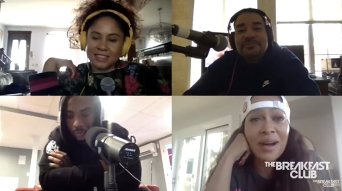 LaLa Anthony on The Breakfast Club