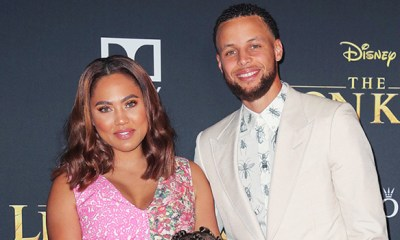 Ayesha Curry and stepg