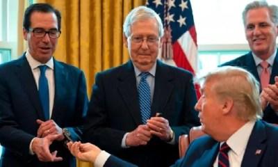 trump signing event