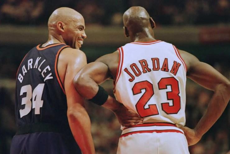 Michael Jordan Charles Barkley