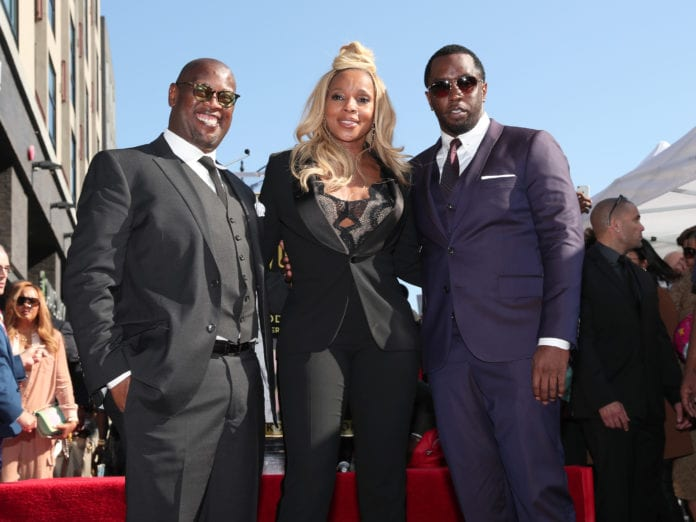 Harrell-Blige-Diddy (Getty)