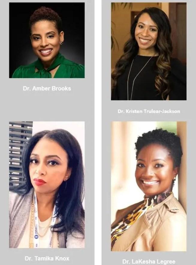 4 black female doctors
