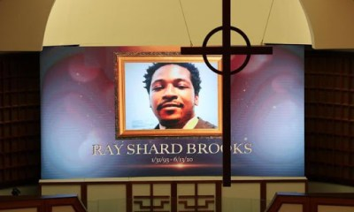 Rayshard Brooks - funeral still
