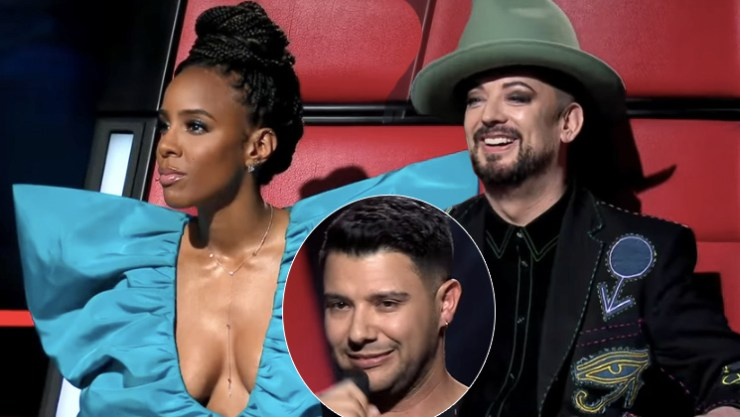 Kelly Rowland, Boy George on The Voice