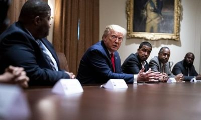 Trump hosts roundtable with Black conservatives