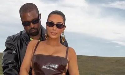 Kanye - Kim1 (Instagram)