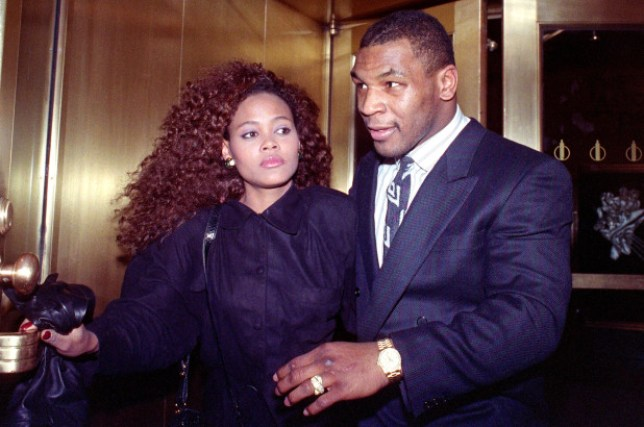 Robin Givens & Mike Tyson
