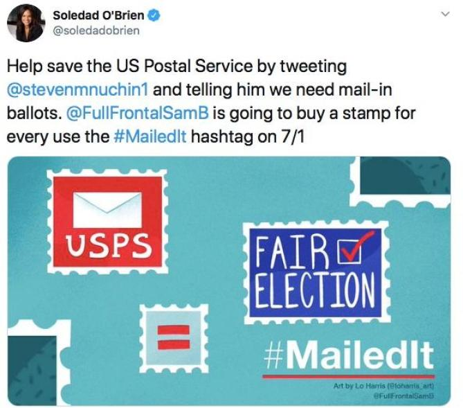 Save USPS - Soledad O'Brien