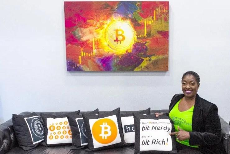 crypto - CEO Najah Roberts - Bitcoin Room