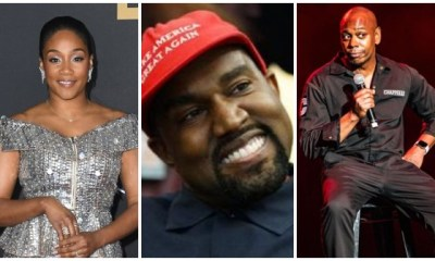 Tiffany Haddish, Kanye West, Dave Chapelle