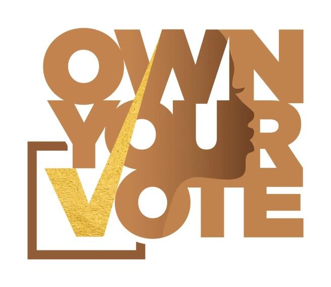 OWN YOUR VOTE Logo