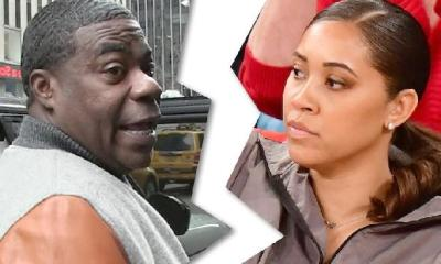 Tracy Morgan - megan Wollover - split (TMZ)