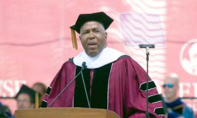 robert f smith-commencement