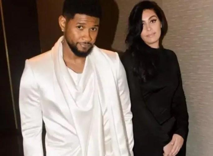 Usher & Jenn Goicoechea - Instagram